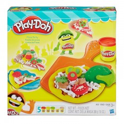 B1856 PLAY DOH CIASTOLINA PIZZA PARTY HASBRO