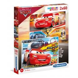 07131 CLEMENTONI PUZZLE CARS 3 AUTA 2x20 el