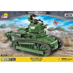 2973 COBI SMALL ARMY RENAULT FT17 FRANCUSKI CZOŁG LEKKI