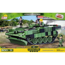 02498 COBI SMALL ARMY STRIDSVAGN 103C SZWEDZKI CZOŁG PODSTAWOWY