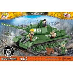 2486 COBI SMALL ARMY RUDY 102 T-34/85 CZOŁG