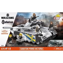 3034 COBI SMALL ARMY SABATON PRIMO VICTORIA CZOŁG