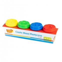 SMILY PLAY MASA PLASTYCZNA KOLOROWE TUBY 4 SZT. 833473