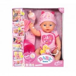 BABY BORN LALKA BOBAS SOFT INTERAKTYWNA 824368