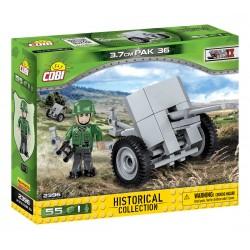 2396 COBI SMALL ARMY NIEMIECKA ARMATA PAK 36 3,7CM