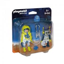 9492 PLAYMOBIL DUO PACK ASTRONAUTA I ROBOT