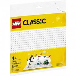 11010 LEGO CLASSIC PŁYTA PŁYTKA KONSTRUKCYJNA BIAŁA
